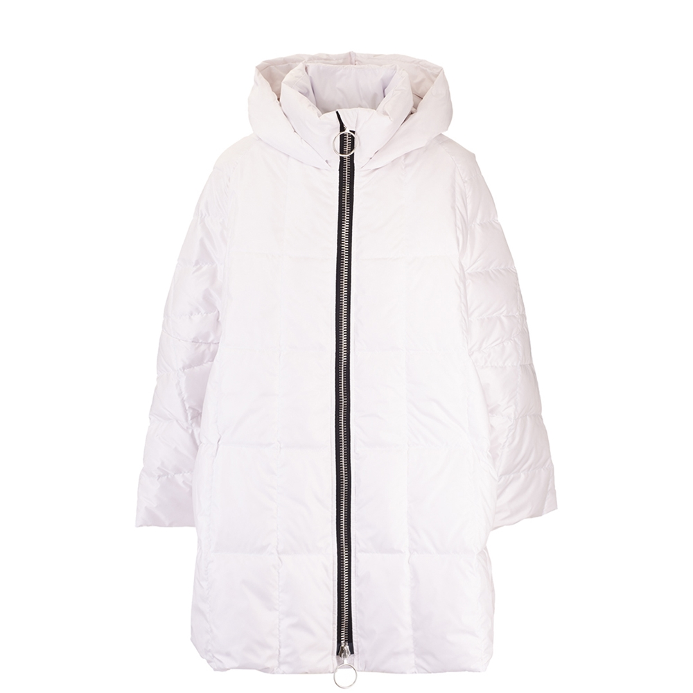 Down jackets | CROPPED PYRAMIDEIVORY WHITE