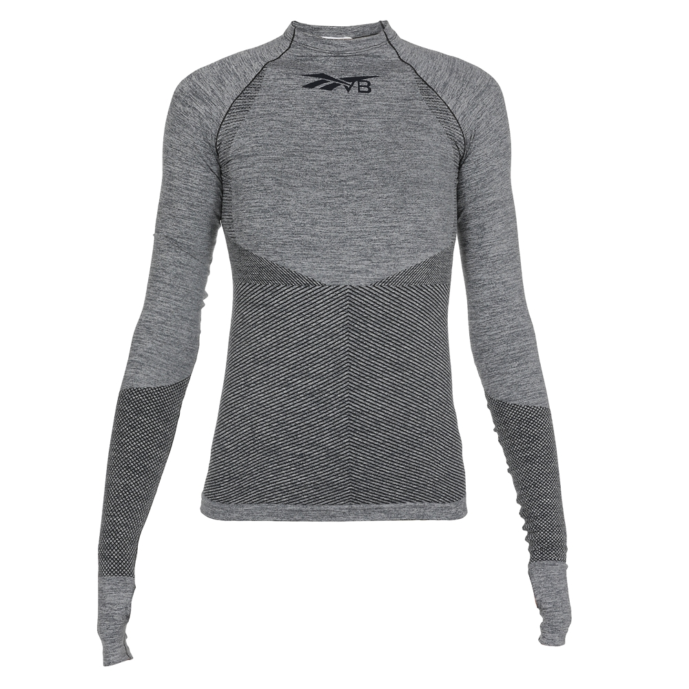 Crewneck | FM3530SEAMLESS LS TEXVB NIGHT NAVY
