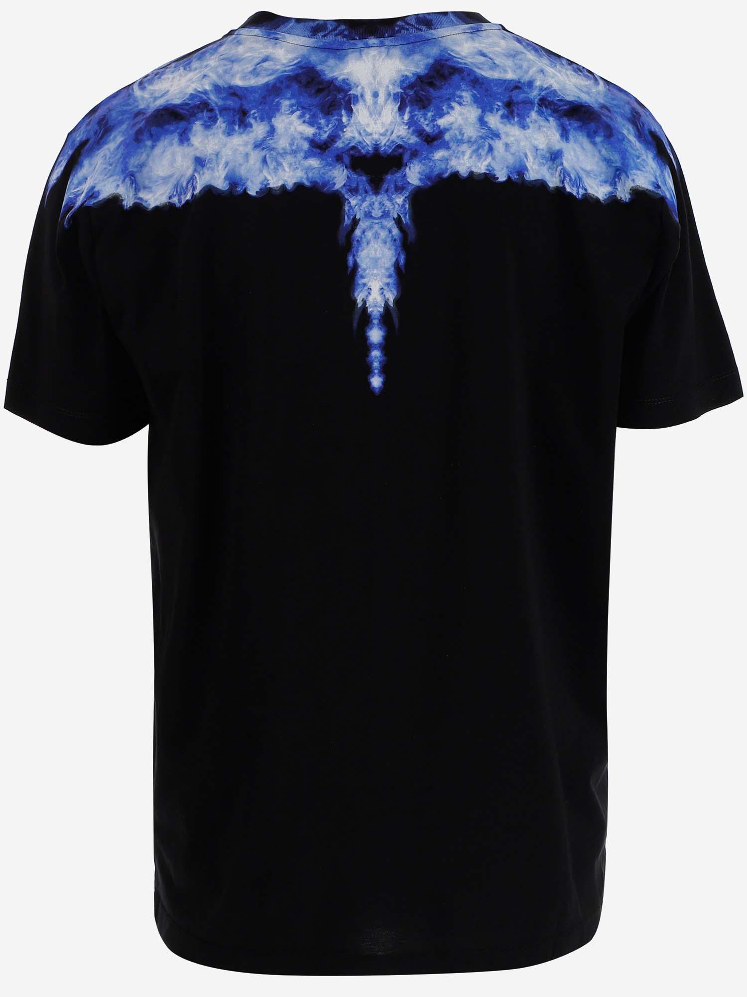 Marcelo Burlon T-shirts and Polos Blue