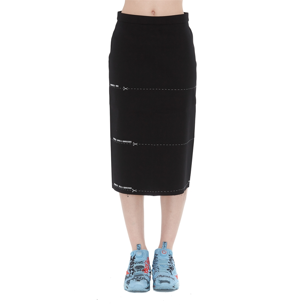 Knee lenght and Midi | WSS194057BLACK
