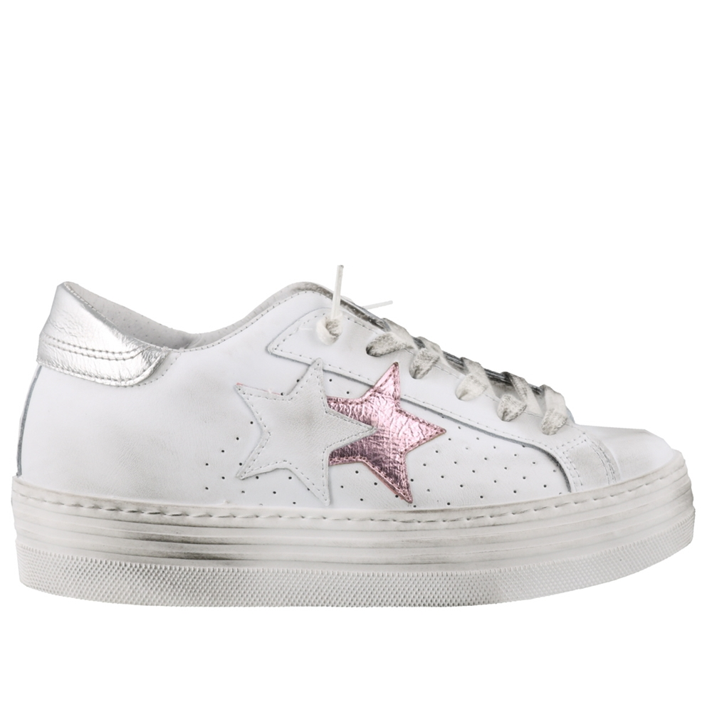 Low Top | 2640BIANCO ROSA