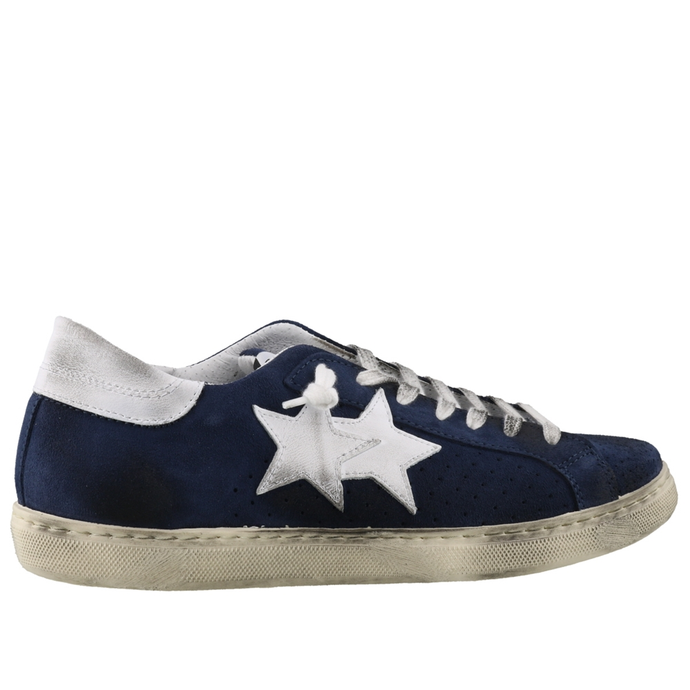 Low Top | U2673BLU BIANCO