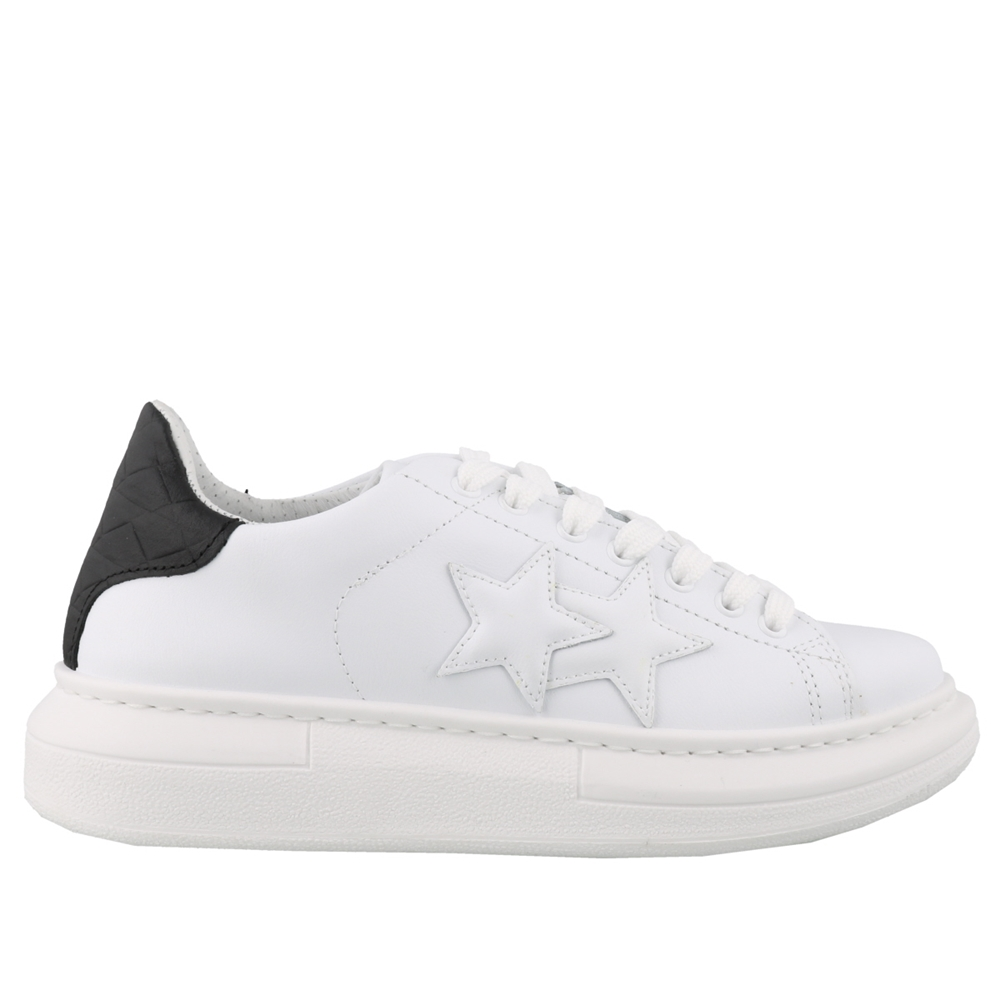Low Top | U2691BIANCO NERO