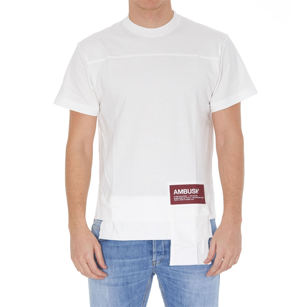 Short sleeves. | 12112078WHTE
