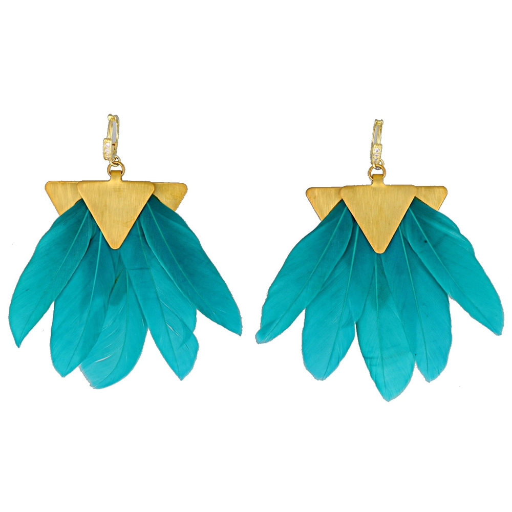 Earrings | ACE1701GREEN