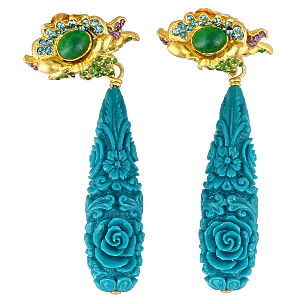 Earrings | SSE2005BLUE