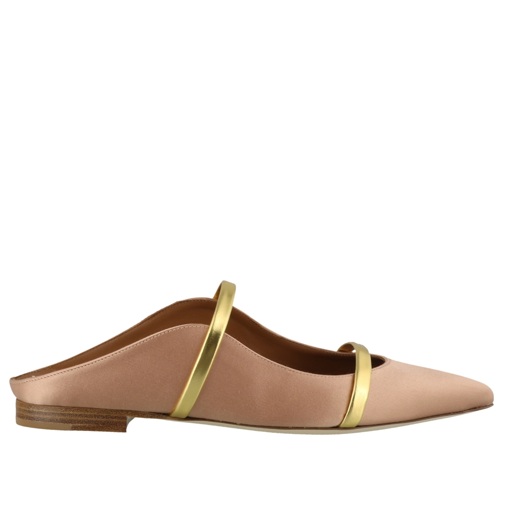 Mules | MAUREEN FLAT51BLUSH/GOLD