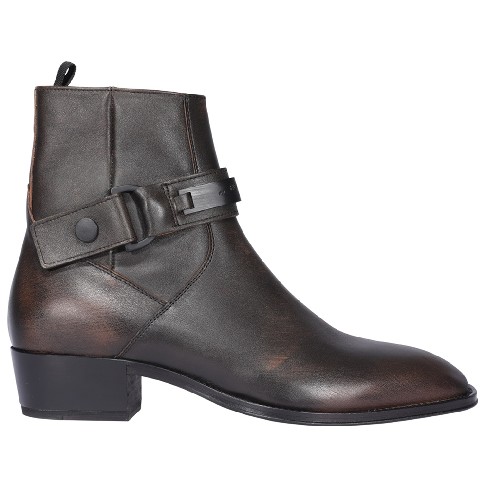 Ankle boots.. | M12011AGED BLACK