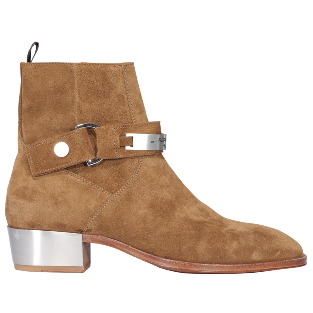 Ankle boots.. | M12011TOBACCO