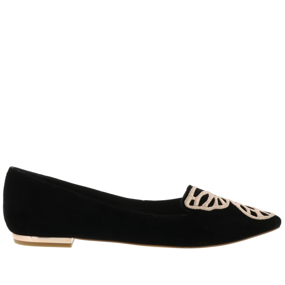 Ballets | BUTTERFLY FLAT SWAW15123BLACK & ROSE GOLD