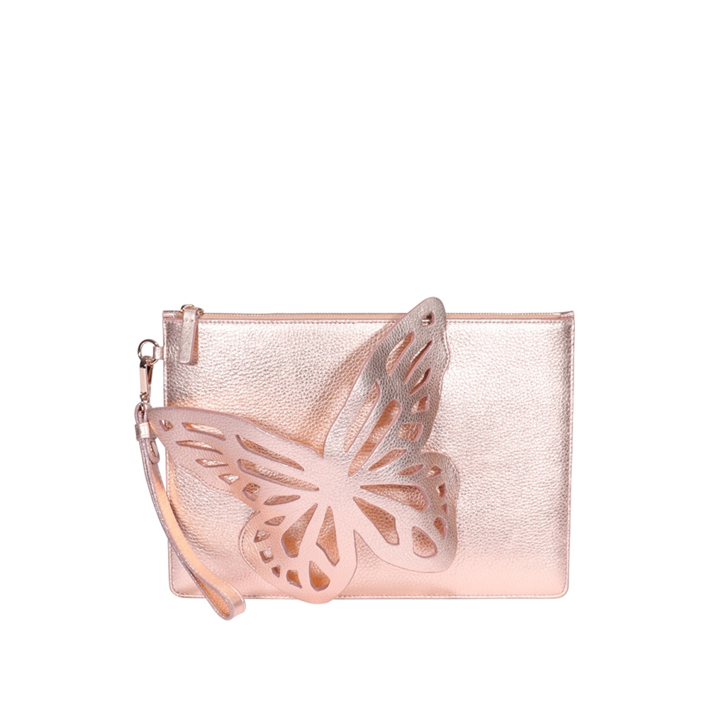Clutch | FLOSSY BUTTERFLY POUCHETTE BSS20004ROSE GOLD