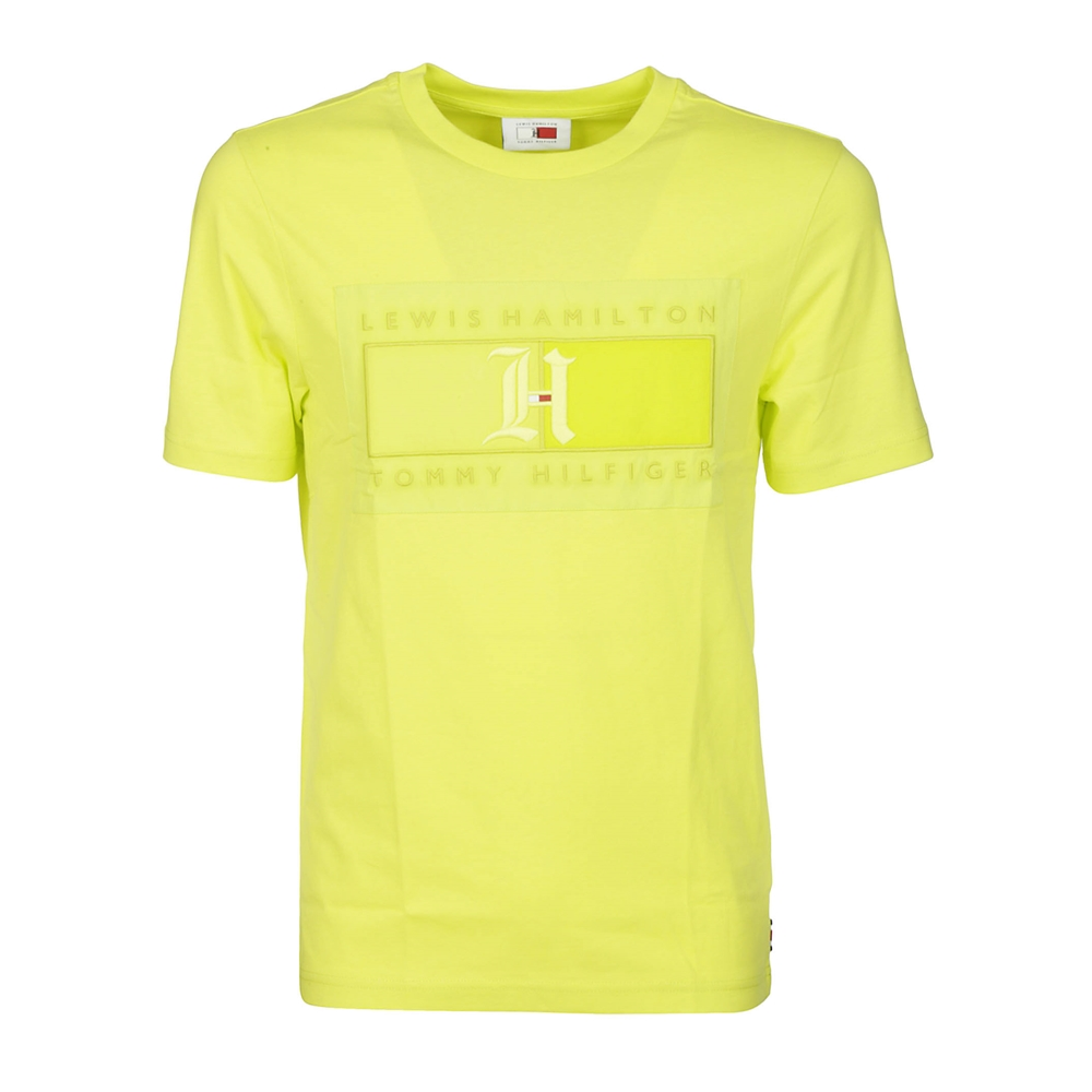 Short sleeves. | MW0MW13660ZQFHYPERYELLOW