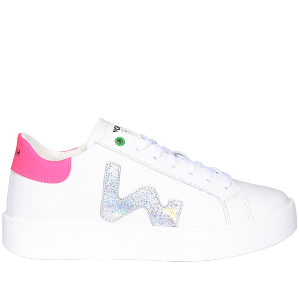 Low Top | C201904WHITE SILVER FUXIA