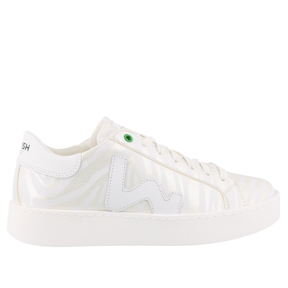 Low Top | C201906PRINT WHITE