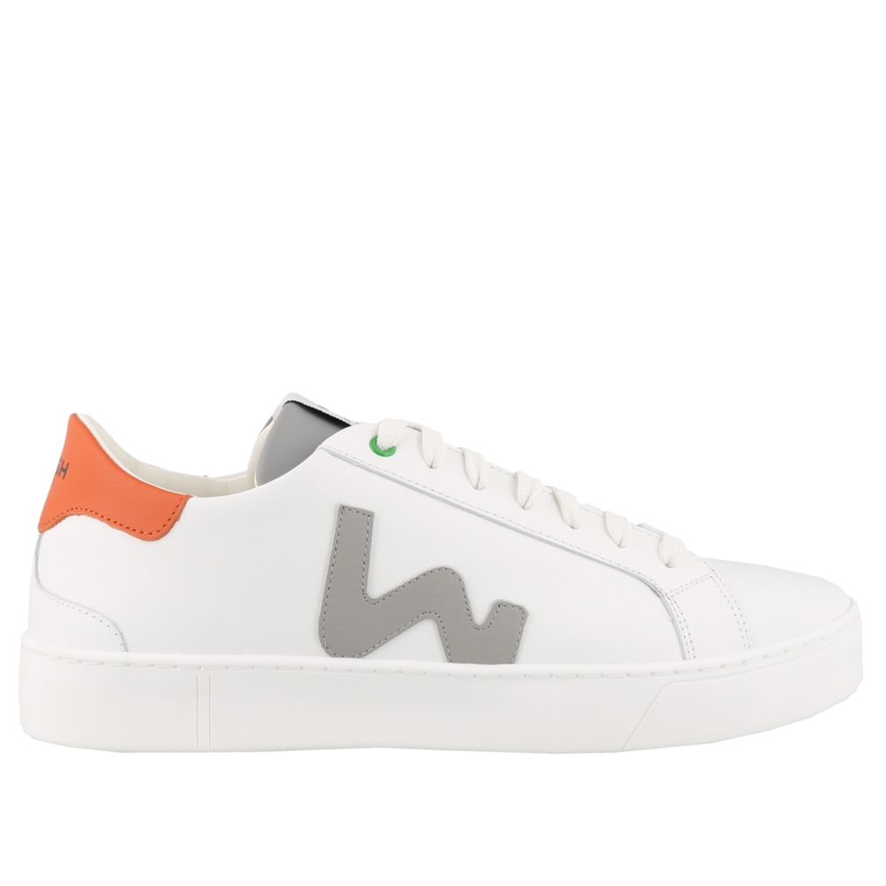 Low Top | S201252WHITE GREY ORANGE