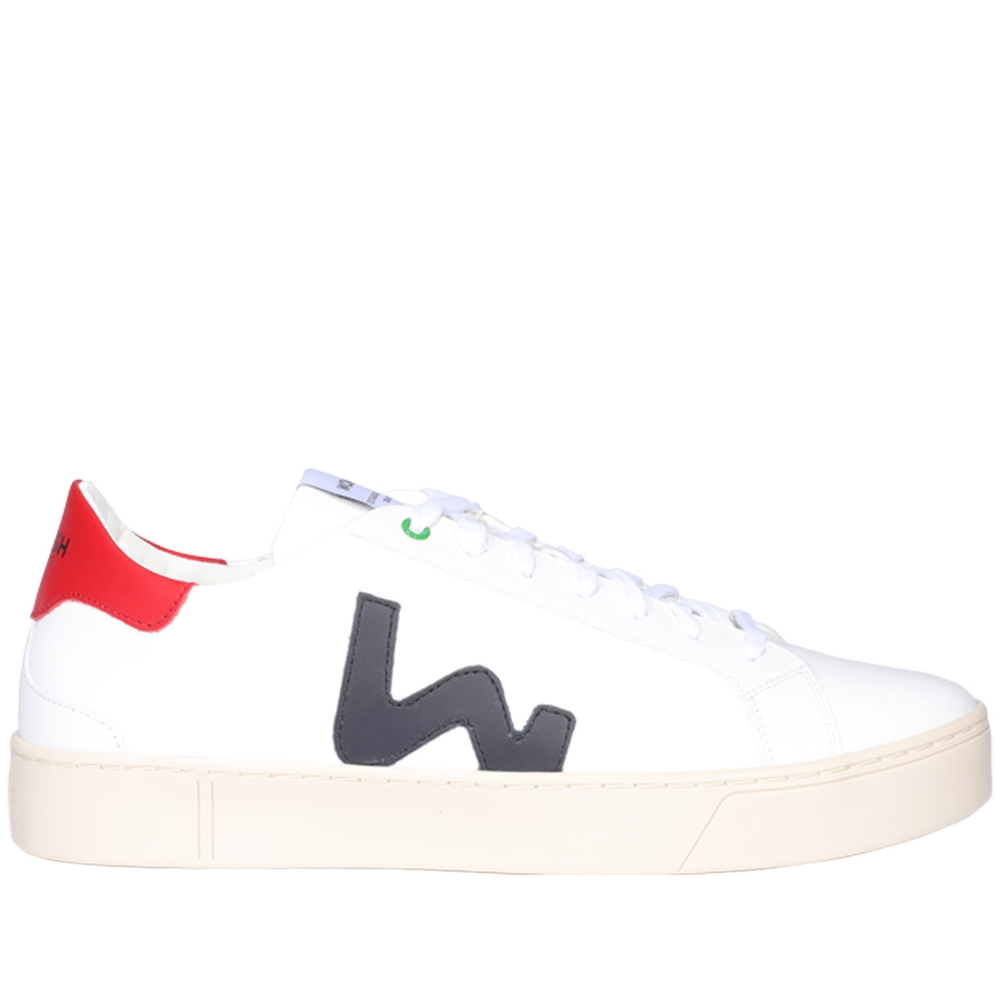 Low Top | S201258WHITE BLU RED