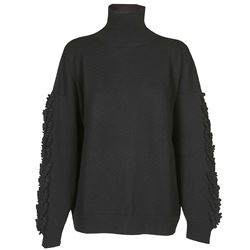 BARRIE KNITWEAR HIGH NECK