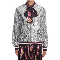 bomber in paillettes