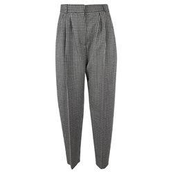 ALEXANDER MCQUEEN TROUSERS PRINTED