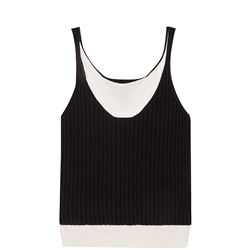 BOTTEGA VENETA TOP SLEEVELESS