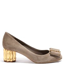 SALVATORE FERRAGAMO WITH HEEL MID HEEL