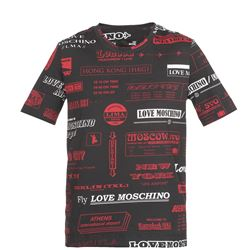 LOVE MOSCHINO T-SHIRTS AND POLOS SHORT SLEEVES