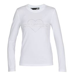 LOVE MOSCHINO T-SHIRTS AND POLOS LONG SLEEVES