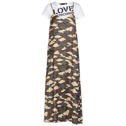 LOVE MOSCHINO DRESSES LONG