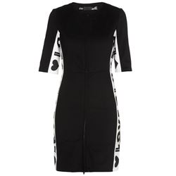 LOVE MOSCHINO DRESSES KNEE LENGHT