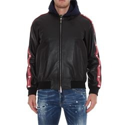 DSQUARED2 COATS LEATHER
