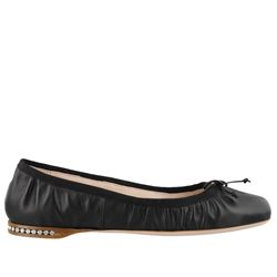 MIU MIU FLAT SHOES BALLETS