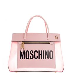 pink small logoed bag