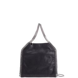 black mini falabella bag