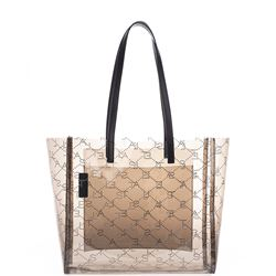 monogram fumee tote bag