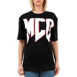 black printed ovresized t-shirt
