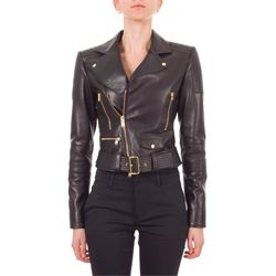 FAUSTO PUGLISI JACKETS LEATHER