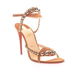 CHRISTIAN LOUBOUTIN SANDALS WITH HEEL