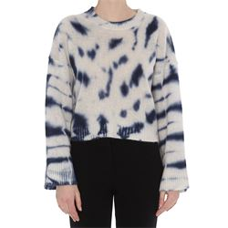 maglione eilsey in cashmere effetto spotted