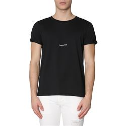 SAINT LAURENT  T-SHIRTS AND POLOS SHORT SLEEVED