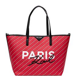 red k/city shopping bag