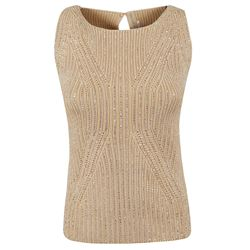 ERMANNO SCERVINO TOP SLEEVELESS