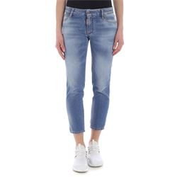 jeans cropped in denim