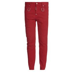 red cool girl jeans