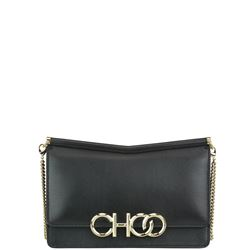 leather sidney clutch