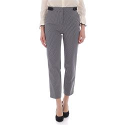 PINKO TROUSERS CROPPED