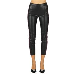 PINKO TROUSERS LEATHER