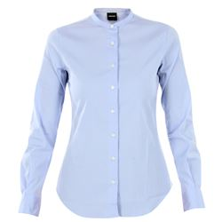 clear blue cotton shirt