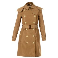 camel kensington trench coat