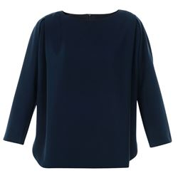 EMPORIO ARMANI TOP WITH SLEEVES