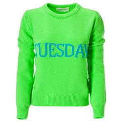 green tuesday sweater